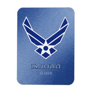 U.S. Ímã flexível aposentado força aérea da foto