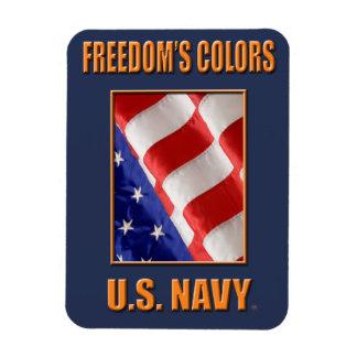 U.S. Ímã flexível da foto do marinho