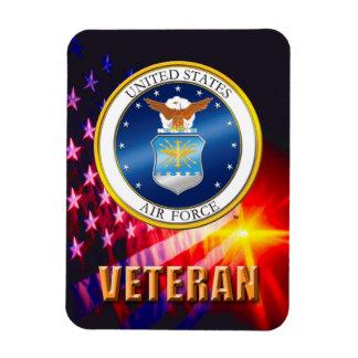 U.S. Ímã flexível da foto do veterano da força