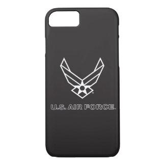 U.S. Logotipo da força aérea - preto Capa iPhone 7