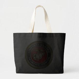 U.S. O Corpo do Marines (USMC) simboliza [3D] Bolsas Para Compras