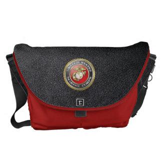 U.S. O Corpo do Marines (USMC) simboliza [3D] Bolsa Mensageiro
