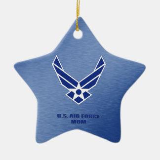 U.S. Ornamento cerâmico da mamã da força aérea