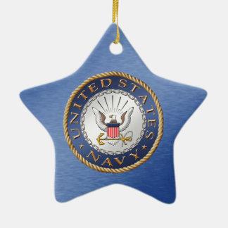 U.S. Ornamento cerâmico do marinho