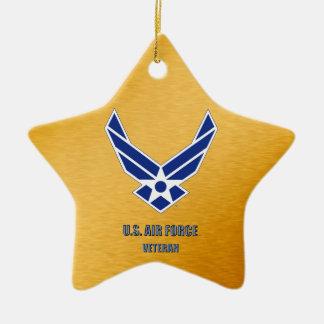 U.S. Ornamento cerâmico do veterinário da força