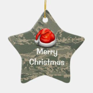 U.S. Ornamento militar do Feliz Natal da estrela