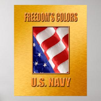 U.S. Poster do marinho