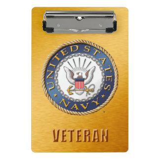 U.S. Prancheta do veterano do marinho mini