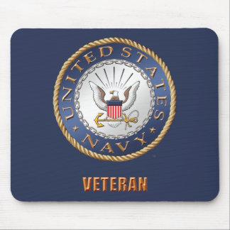 U.S. Veterano Mousepad do marinho