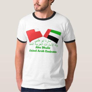 UAE & azulejos da bandeira de Abu Dhabi Tshirts