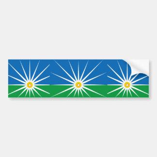 Uberlandia Minasgerais bandeira de Brasil, Brasil Adesivo