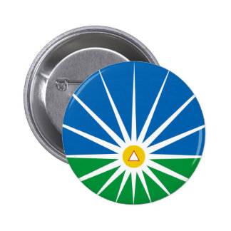 Uberlandia Minasgerais bandeira de Brasil, Brasil Bóton Redondo 5.08cm