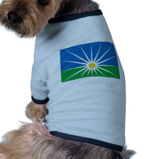 Uberlandia Minasgerais bandeira de Brasil Brasil Camisetas Para Caes