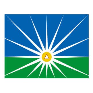 Uberlandia Minasgerais bandeira de Brasil Brasil Cartões Postais