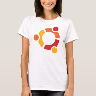 Ubuntu T-shirt da senhora Camiseta