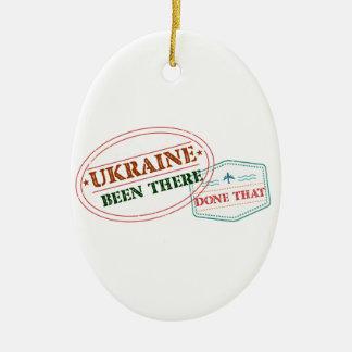 Ucrânia feito lá isso ornamento de cerâmica