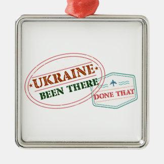 Ucrânia feito lá isso ornamento de metal