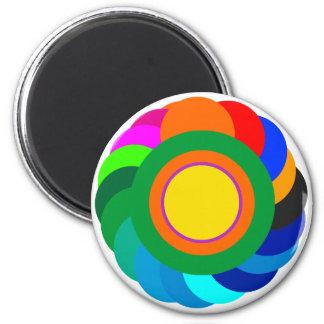 !   UCreate com círculos de cor SqCircleTran2 cont Imãs