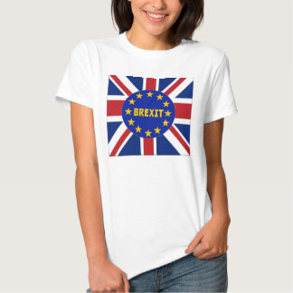 UE Brexit da bandeira de Inglaterra do t-shirt