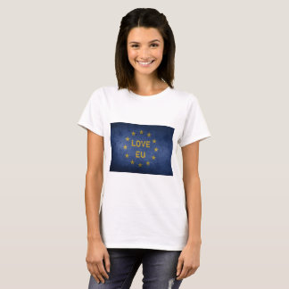 UE do amor - Anti camisa de Brexit T