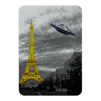 UFO em Paris Convite 8.89 X 12.7cm