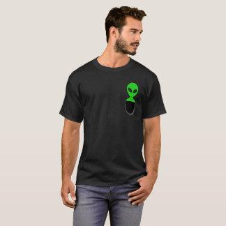UFO estrangeiro da camisa | do bolso T do T
