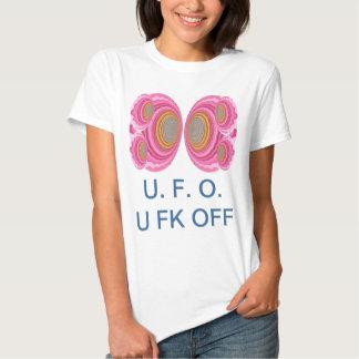 UFO U.F.O. - Arte estrangeira na terra Tshirts