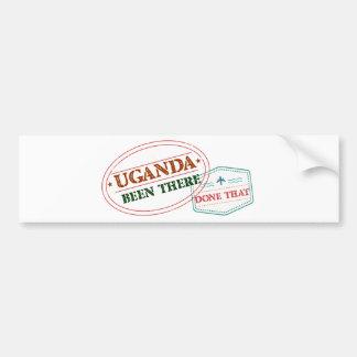 Uganda feito lá isso adesivo de para-choque
