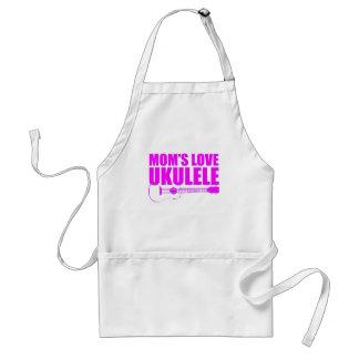ukulele do dia das mães avental