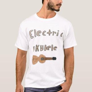 ukulele elétrico camiseta