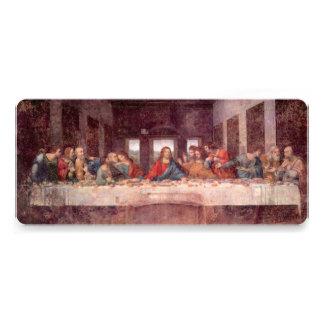 Última ceia por Leonardo da Vinci, arte de renasci Convite Personalizados