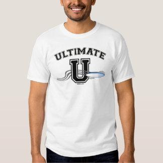 UltimateU 1Sided preto Camiseta