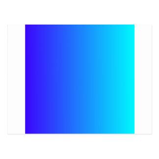 Ultramarine elétrico ao inclinação ciano elétrico cartão postal