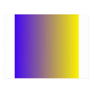 Ultramarine elétrico ao inclinação do vertical do cartão postal