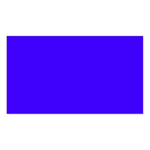 Ultramarine elétrico cartoes de visitas
