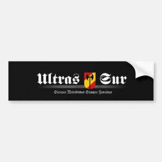 ultrassur Ultras Sur Real Madrid Adesivo Para Carro