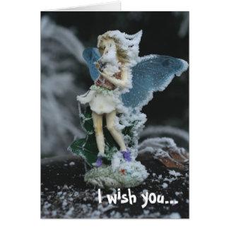 um 2012 feérico cartão comemorativo