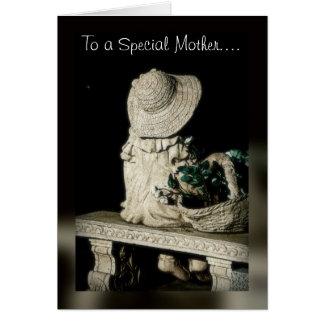 Um amor de mãe cartão comemorativo
