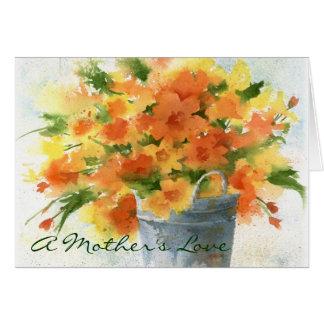Um amor de mãe - cartão do dia das mães
