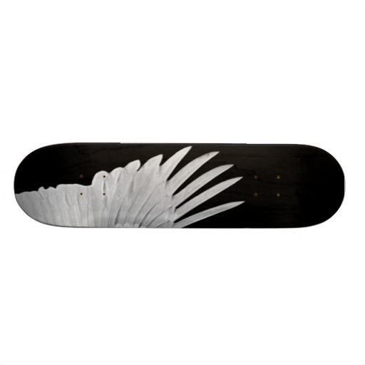 Um anjo voado skates