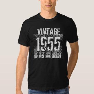 Um ano de 1955 aniversários - o melhor vintage t-shirts