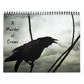 Um assassinato do calendário dos corvos