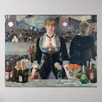 Um bar no poster de Folies-Bergère