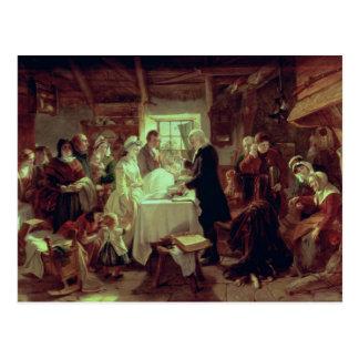 Um batismo escocês cartões postais
