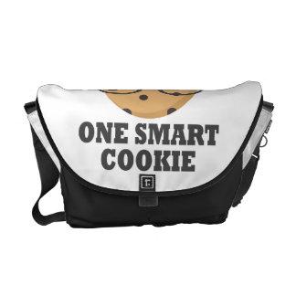 Um biscoito esperto bolsas mensageiro