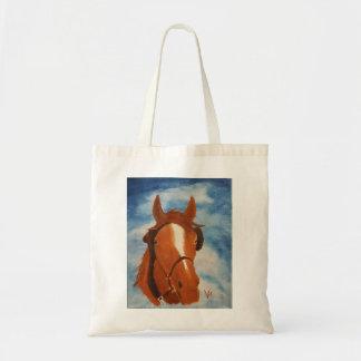 Um bolsa do cavalo do trabalho