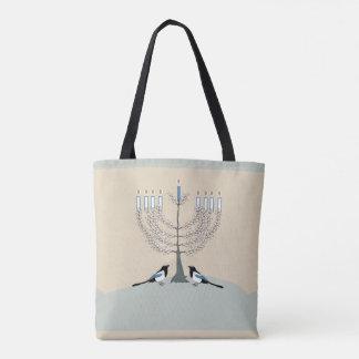 Um bolsa feliz de Hanukkah do deserto