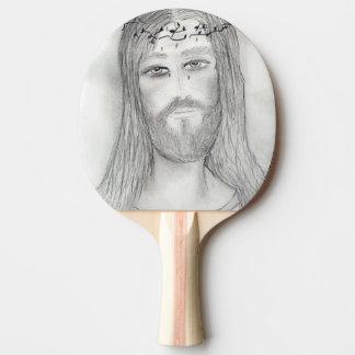 Um bom Jesus Raquete Para Pingpong