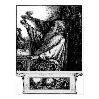 Um brinde ao cartão da morte