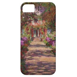 Um caminho no jardim de Monet, Giverny, caso Capa Barely There Para iPhone 5
